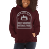 RV There Yet? Rocky Mountain National Park Hooded Sweatshirt (Unisex) Maroon