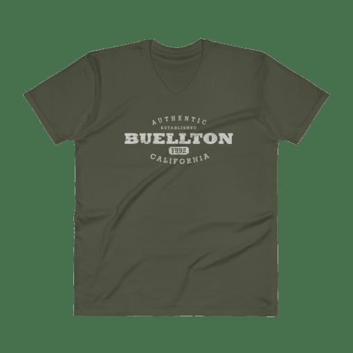 Authentic Buellton V-Neck (Men's) City Green