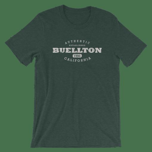 Authentic Buellton T-Shirt (Unisex) Heather Forest