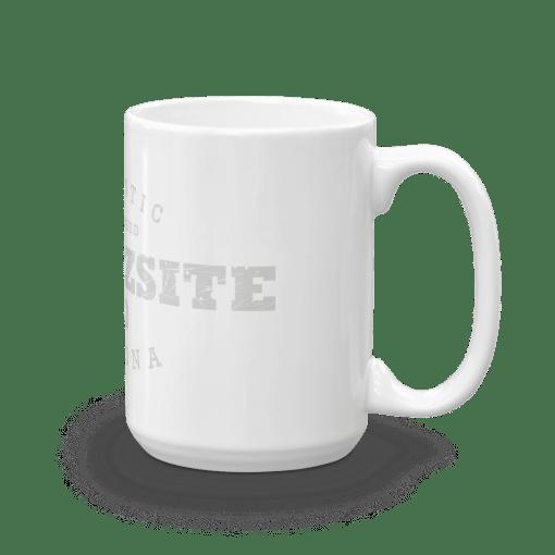 Authentic Quartzsite Camp Mug 15oz Handle Right