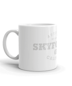 Authentic Skyforest Camp Mug 11oz Handle Left