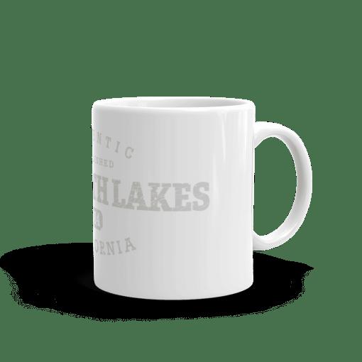 Authentic Mammoth Lakes Camp Mug 11oz Handle Right