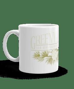 Original Green Valley Lake Camp Mug 11oz Handle Left