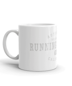 Authentic Running Springs Camp Mug 11oz Handle Left