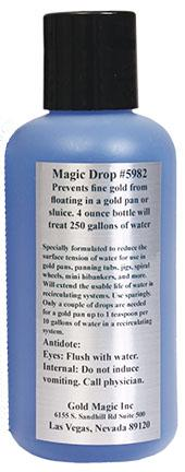 Magic Drop: Prevents Fine Gold From Floating