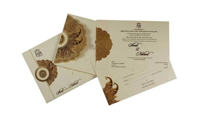 50 Pcs Laser Cut Erfly Indian Wedding Card Design English Invitation Greeting