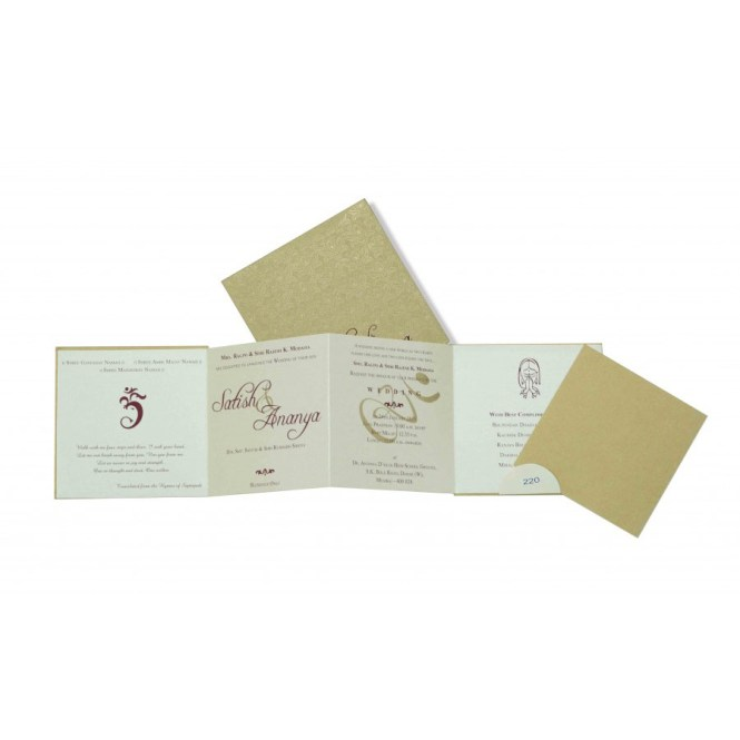 Standard Size Of Wedding Invitation