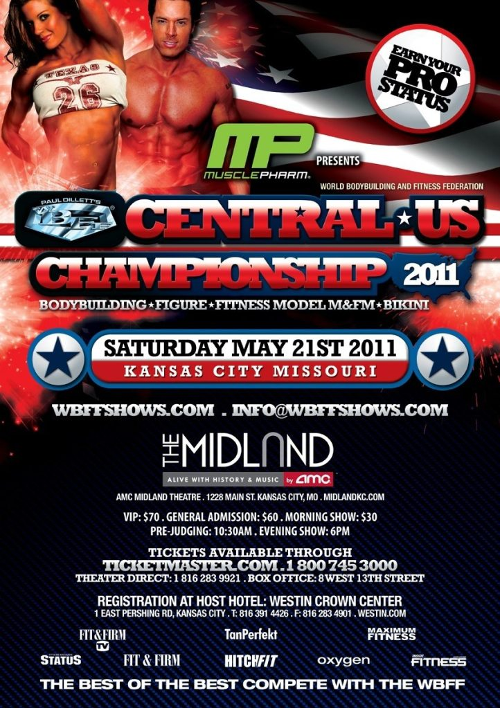 WBFF Central US Championships PRIZES!!