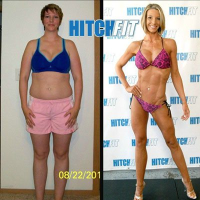 Andrea Before and After Front Breast Cancer Survivor Achieves Fitness Dream with Online Personal Training 400 square