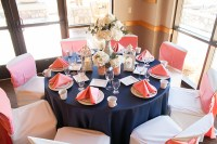 Navy & Coral, Navy & Plum, Navy & Greens and Other Wedding ...