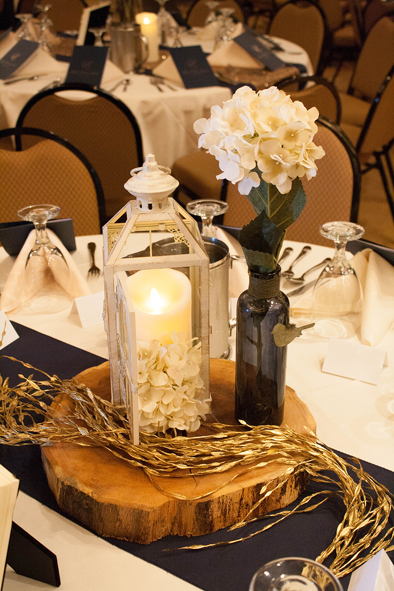 Fall Wedding Table Centerpieces