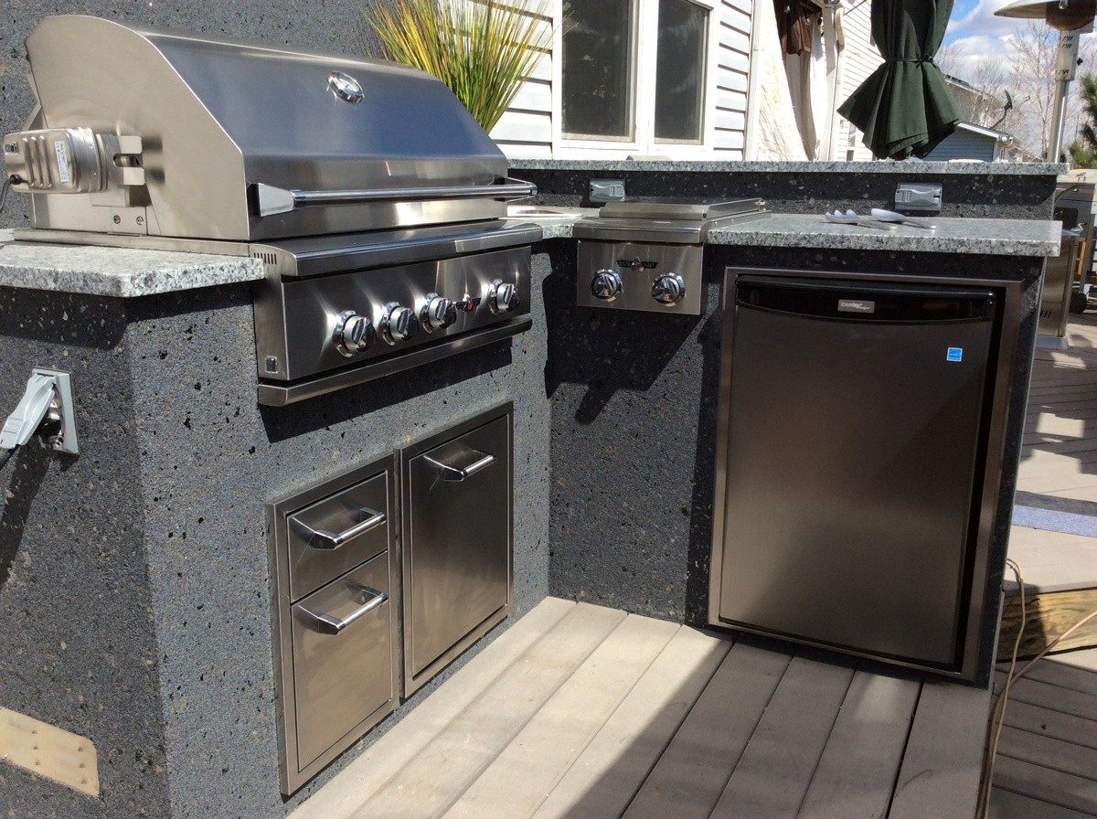 Lightweight Kitchen Cabinets Outdoor Kitchens – Hi-tech Appliance