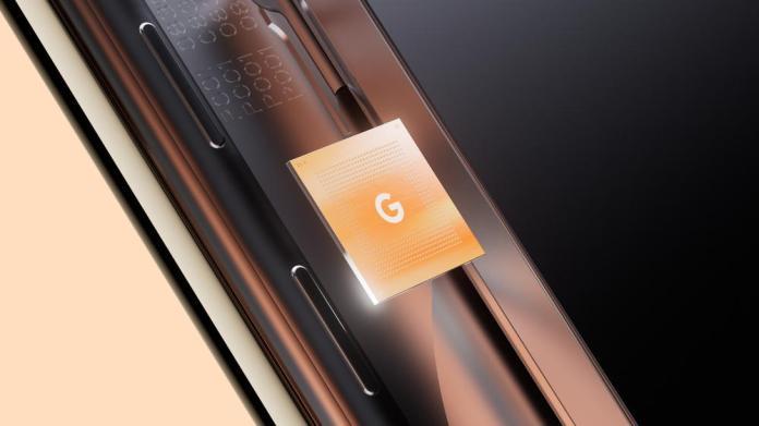 Google Tensor - Credit Google