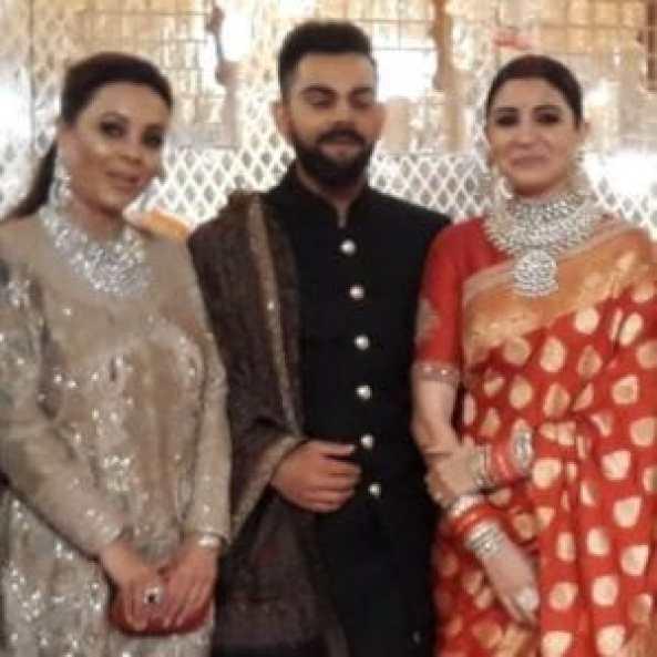 Check out pictures from Anushka Sharma - Virat Kohli reception! 6