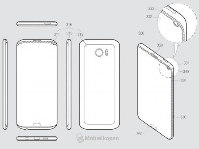Of course Samsung is studying ways to copy the iPhone X design 1