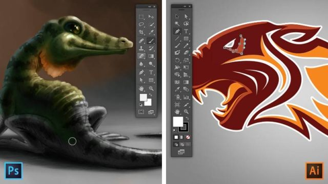 Photoshop vs Illustrator: what's the difference