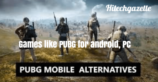 Games Like PUBG: Best PUBG Alternatives