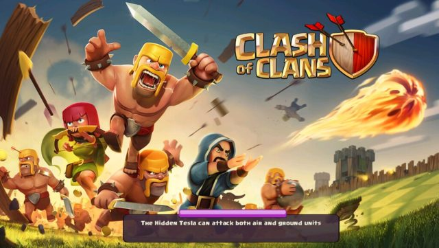 Clash of Clans for android, IOS and PC