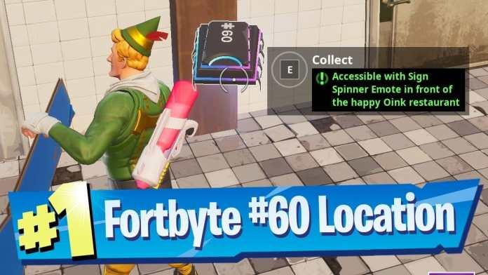 Fortnite Fortbyte Location No 60