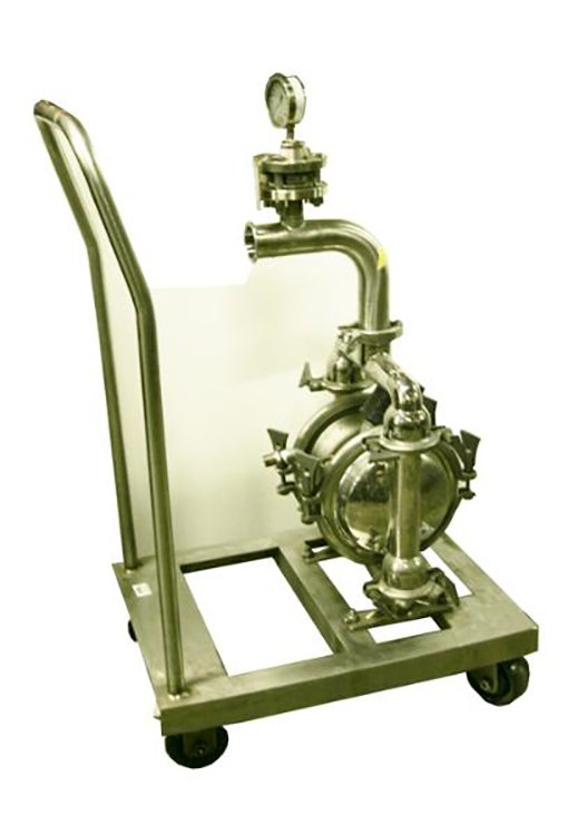 Diaphragm Pump  sanitation stainless steel