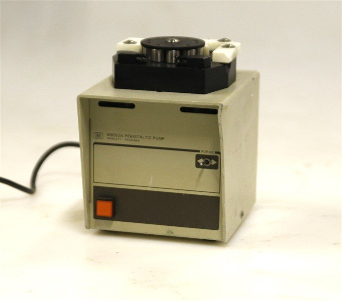 Hewlett Packard Peristaltic Pump  Model 89052 A