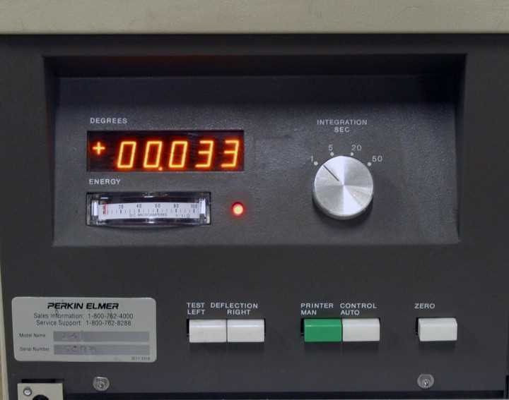 Perkin Elmer Polarimeter Model 241 - 1
