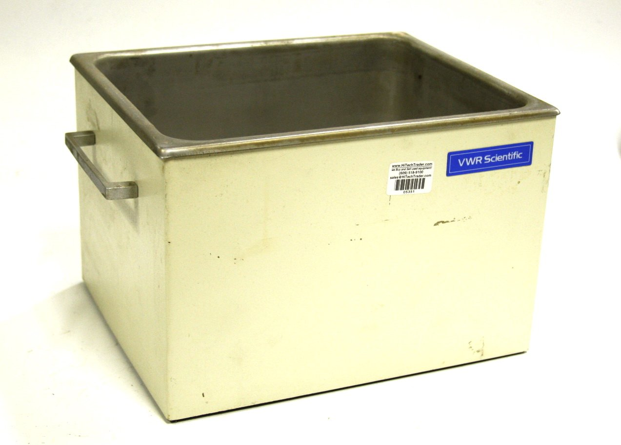 VWR Scientific Stainless Steel Bath Container