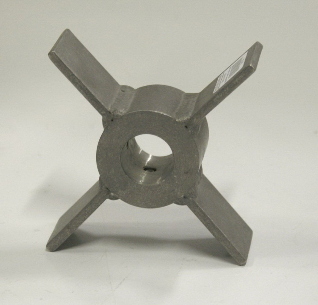 Impeller 300 series Stainless Steel Open Radial Flow