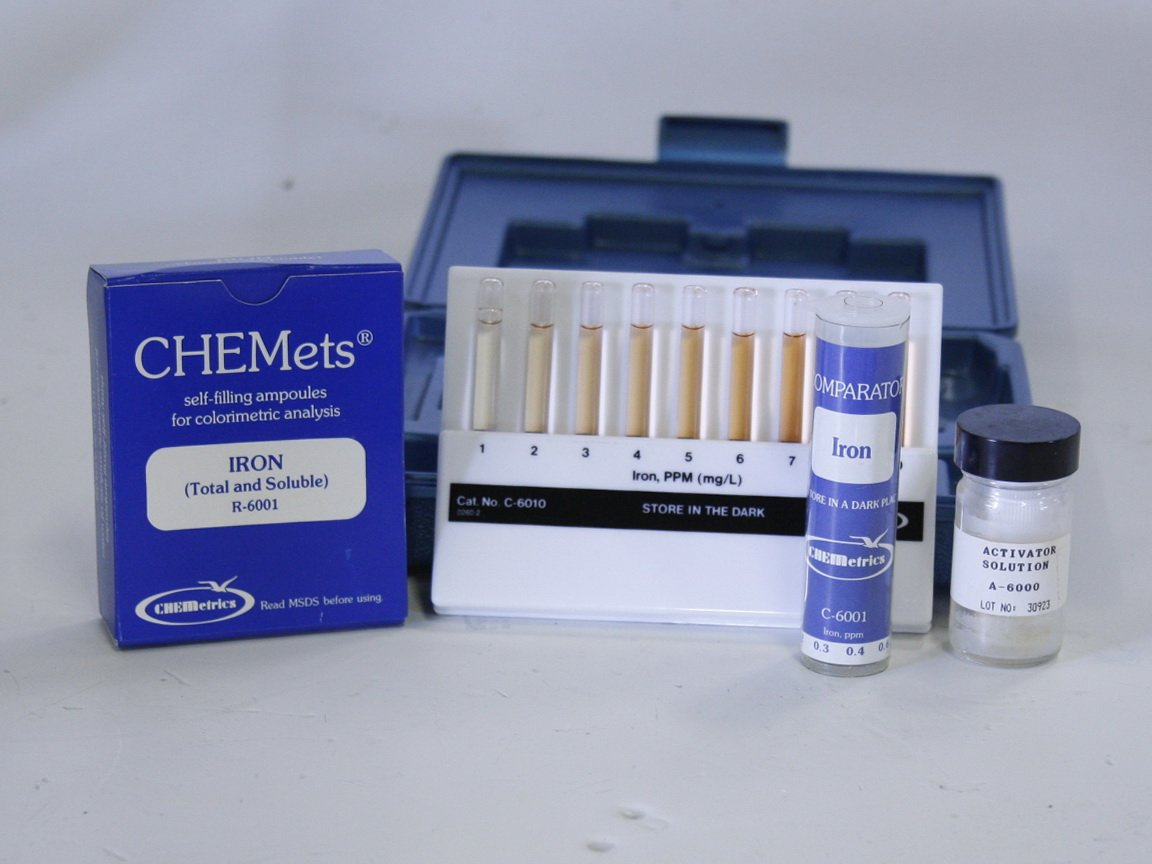 CHEMetrics K-6010 Colormetric Test Kit