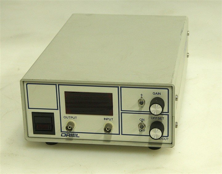 Oriel Corp, high-gain amplifier