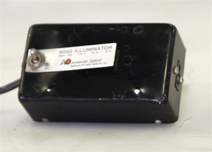 American Optical 384 Ring Illuminator Power Supply