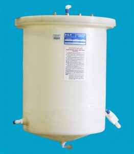 PEP 15 Gallon Conical Botttom Cylindrical Tank