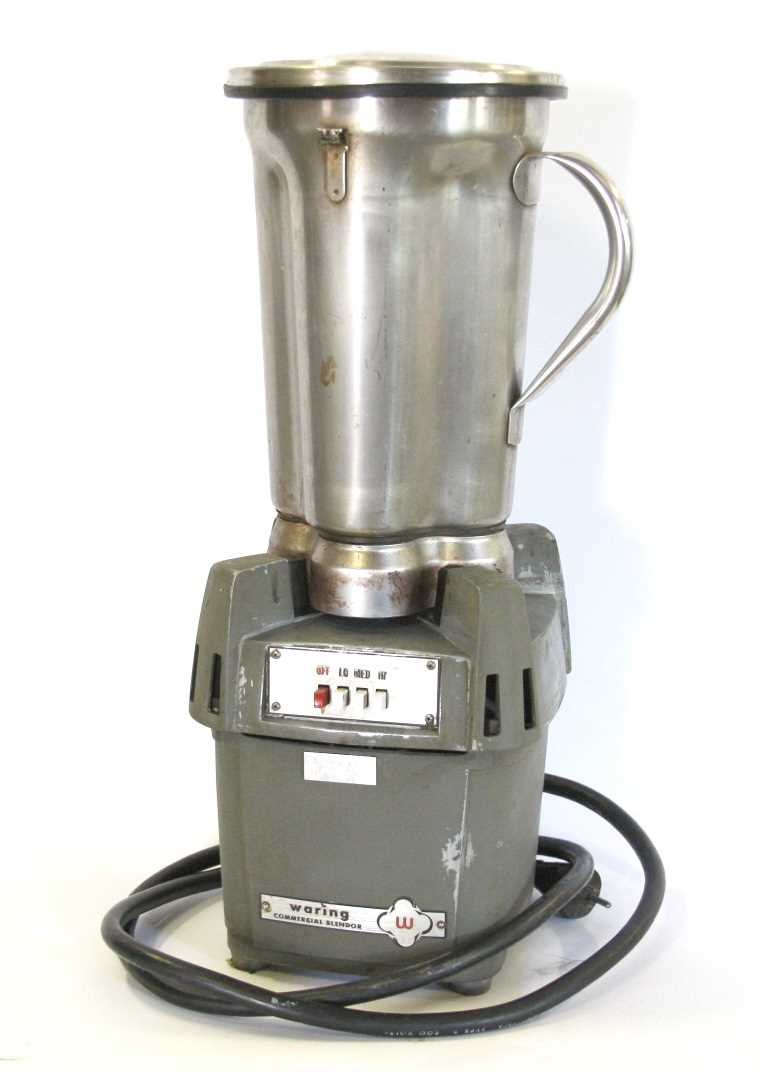 Waring Blender, Industrial size, Heavy-duty motor