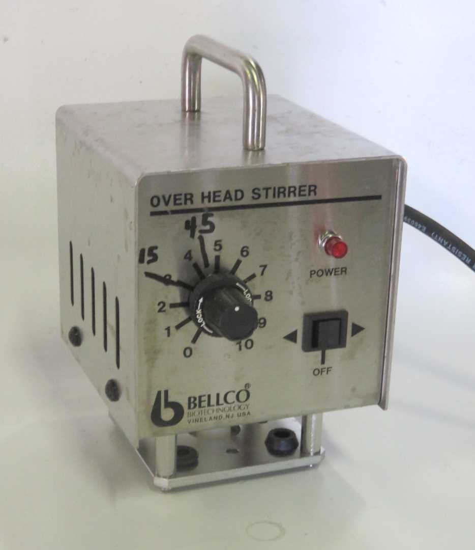 Bellco Overhead Stirring Drive Assembly Model 7764