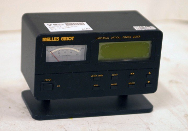 Melles Griot Universal Optical Power Meter