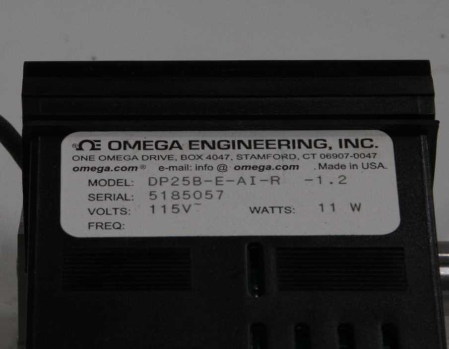 Omega DP25B-E Proces Meter with PX181-030G5V Pressure Transducer – 1