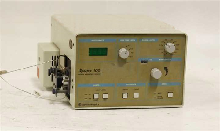 Spectra Physics Spectra 100 Variable Wavelength Detector