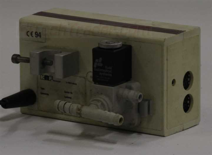 KNF Neuberger Vacuum Controller and Readout – 3