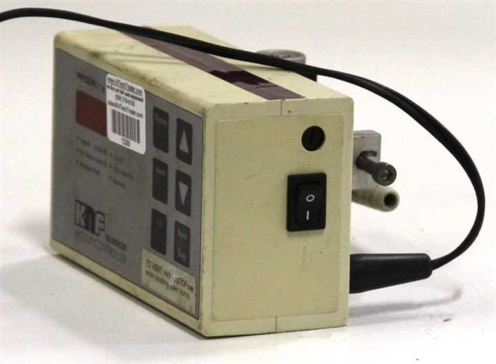 KNF Neuberger Vacuum Controller and Readout – 6