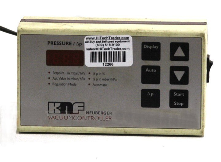 KNF Neuberger Vacuum Controller and Readout