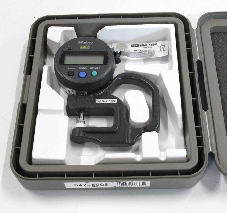 Mitutoyo Absolute Thickness Gauge – 1