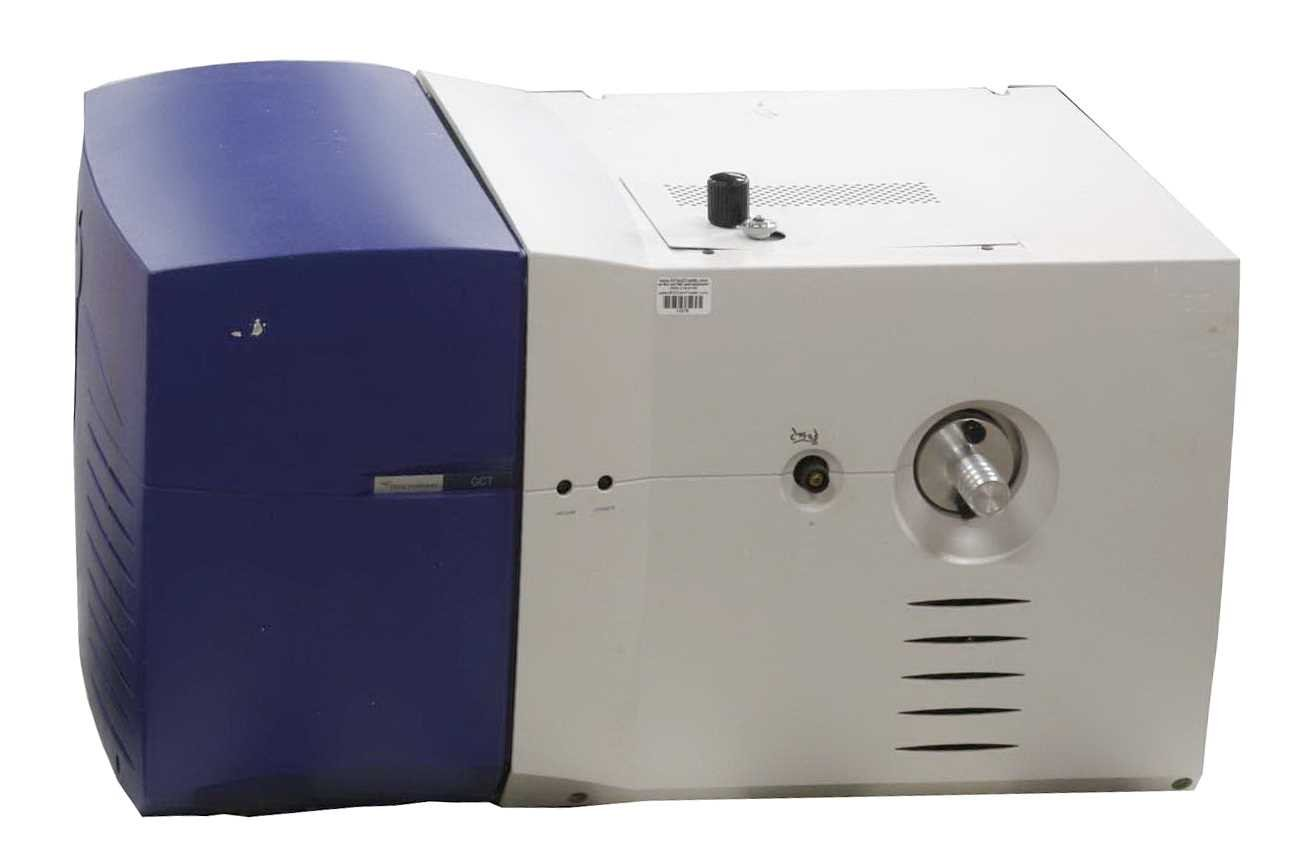 Micromass GCMS GCT Spectrophotometer