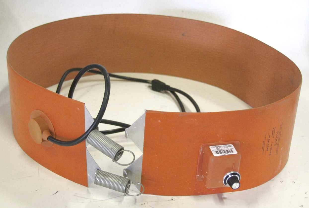 BriskHeat Model 3CDC2 Heavy Duty Poly Drum Heater 55 Gallon
