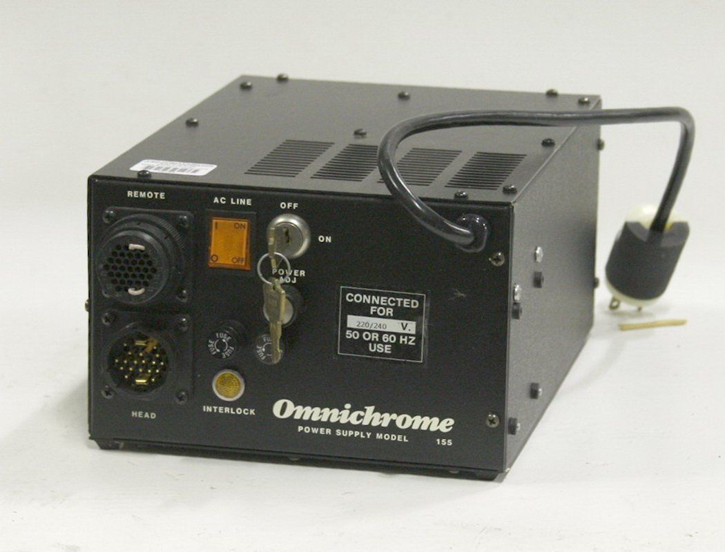 Omnichrome Laser Power Supply Model 155P