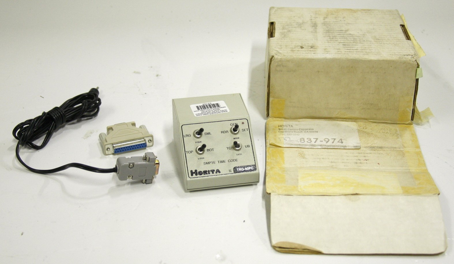 Horita TRG-50PC Longitudinal Time Code Generator
