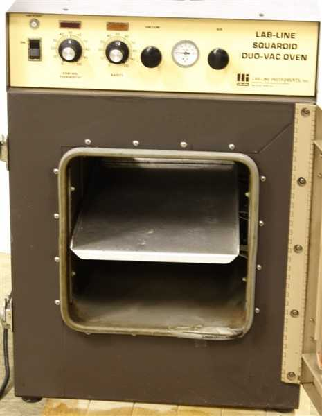 Lab Line Squaroid DuoVac Vacuum High Temp Oven Model 3628 – 1