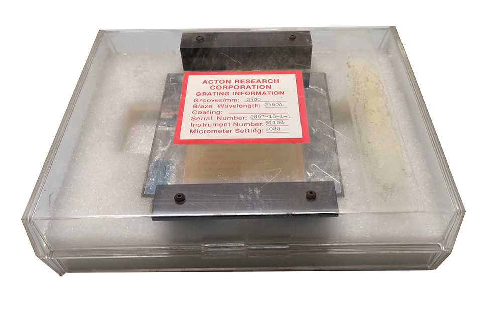 Diffraction Grating 2400 Grooves mm  Acton Research – 1
