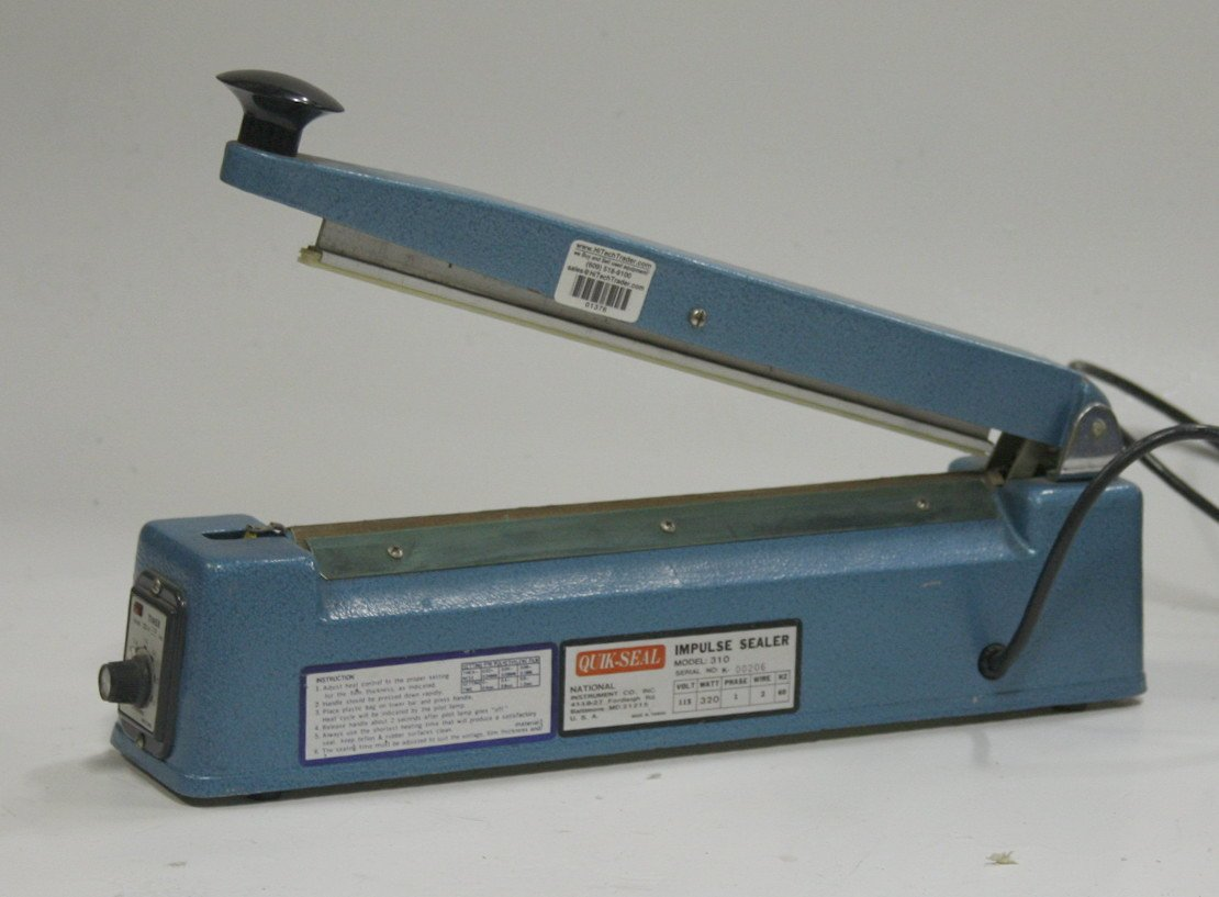 National Instruments Thermal Impulse Sealer 310