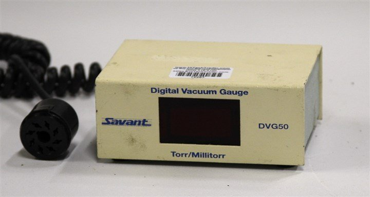 Savant Model DVG50 Digital Vacuum Gauge