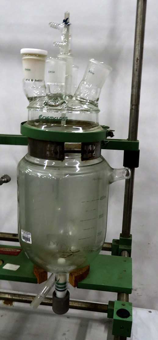 Chemglass 4000mL Reaction Vessel CG-1929-X28